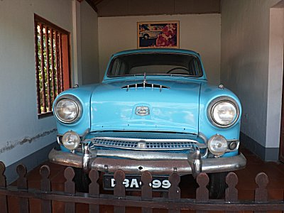 The car that Thich Quang Duc drove to Saigon=