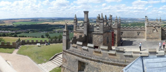 The view from Bolsover Castle