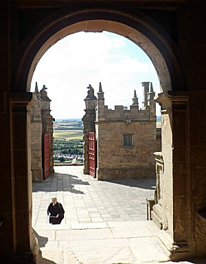 Bolsover little castle entrance