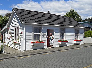 The Biddle Cottage in South St, Nelson