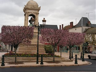 The square in Briare