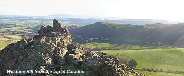 Wilstone Hill from Caer Caradoc Hill