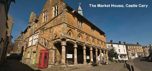 The Market House, Castle Carey.