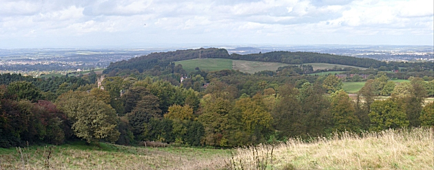 View North from Clent Hill
