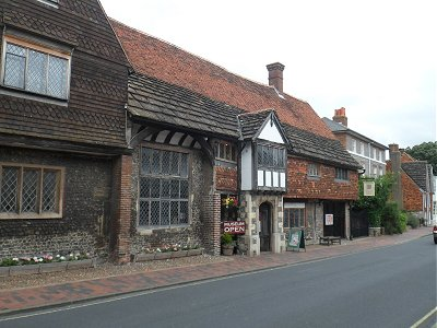 Anne of Cleves house in Lewes