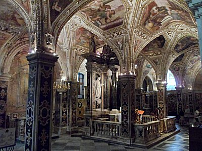 The Crypt of St Andrew, Amalfi Cathedral