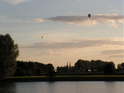 Balloons over Cuijk