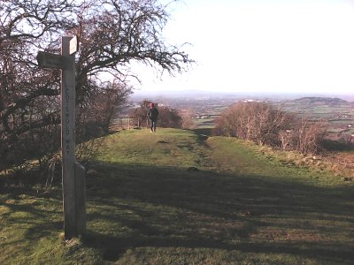 The Cotswold Way at Crickley Hill