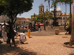 Dancing in the square at Salvador