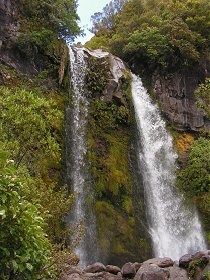 Dawson Falls on the slopes of Mount Egmont