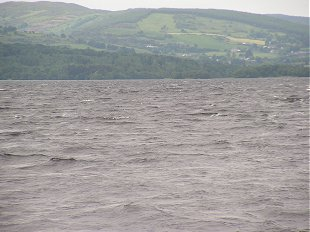 Rough water on Lough Derg