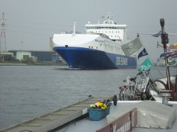 DFDS ferry from Gothenburg