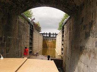 double lock on the Grand Canal