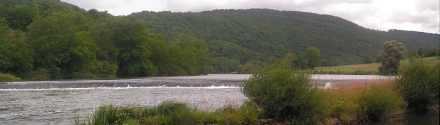 A Weir on the river Doubs