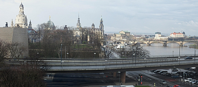 Dresden from our hotel room