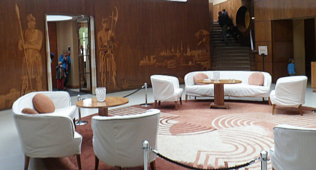Eltham Palace entrance hall