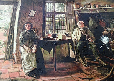 The Fletchers in 1901 painting