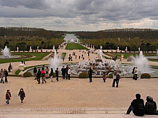 Fountains at Versailles