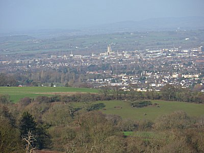 Gloucester from Kite Hill