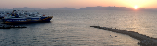Ferries at Rafina