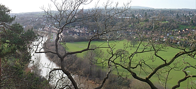 Bridgnorth from High Rock