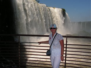 Iguacu the main fall Brazil