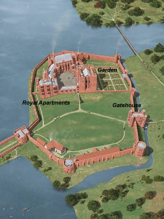 The Castle in 1575