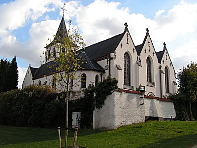 The church at Sint-Martens-Latem