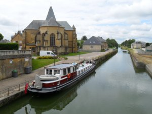 Mooring at le Chesne
