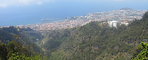 Funchal from the Levada do Tornos