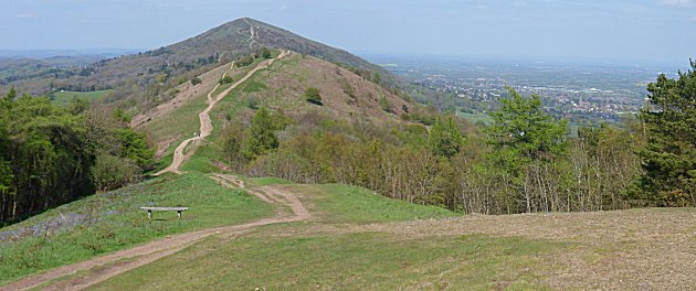 The Malverns from Jubilee Hill