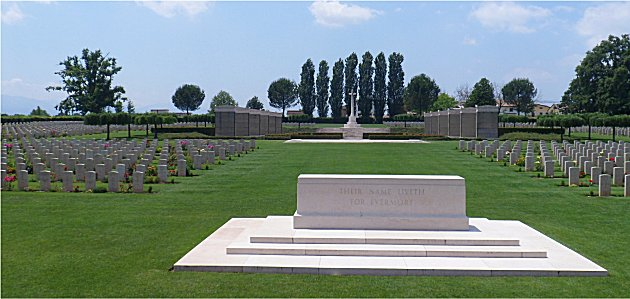 Cassino Commonwealth War Cemetery.