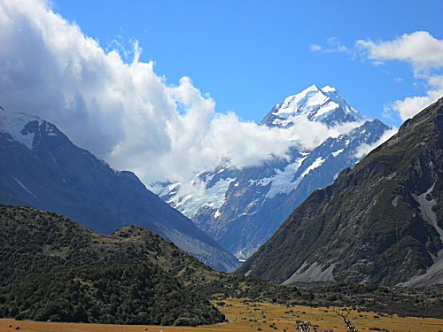 Mount Cook from the Kea track