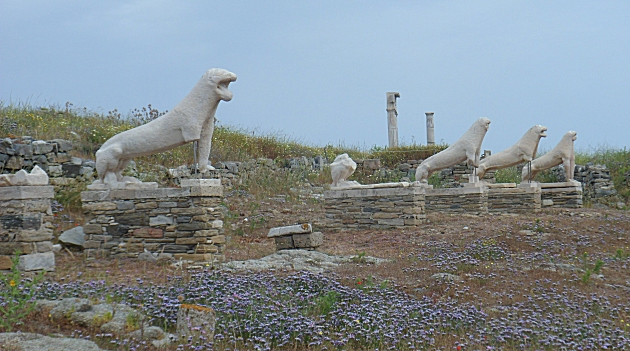The Naxos Lions on Delos
