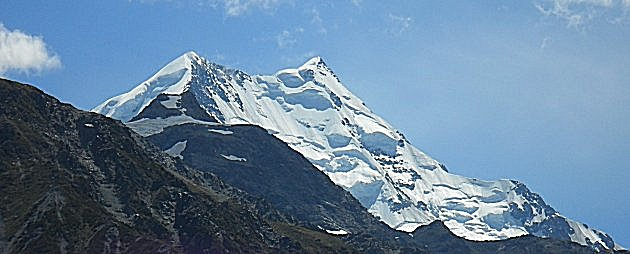 The North face of Mount Cook