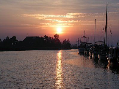 Sunset on the Alde Wei
