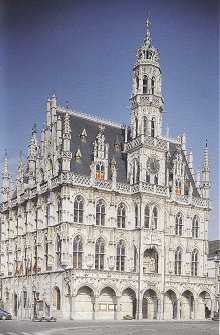 The Stadhuis at Oudenaard