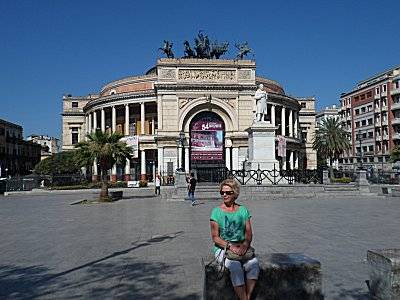 The Theatre in Palermo