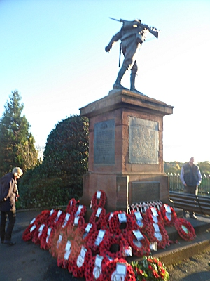 Remembrance Day Bridgnorth memorial