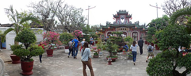 Phuoc Kien Assembly Hall Garden