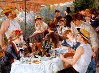 Renoir's boating party at Malmaison