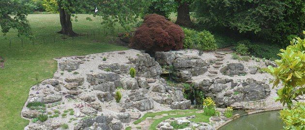 Rock Garden at Eltham Palace