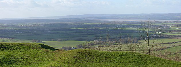 Looking across the Severn to Wales from Ring Hill