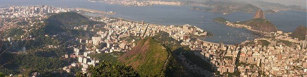 Rio panorama from Corcovado