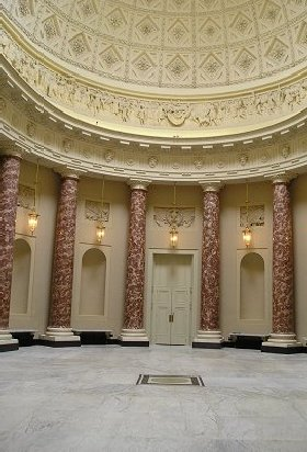 The Saloon at Stowe House