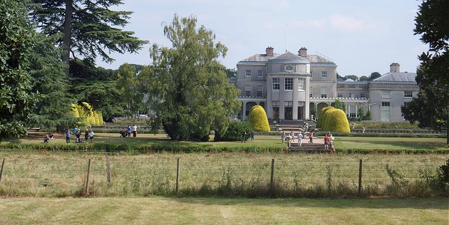 The back of Shugborough Hall