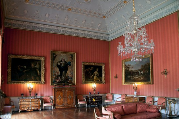 The Red Drawing Room, Shugborough Hall