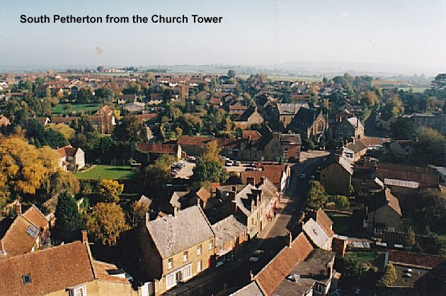 South Petherton from the church tower