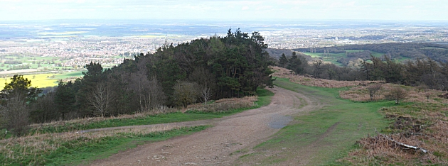 Looking South from the Wrekin