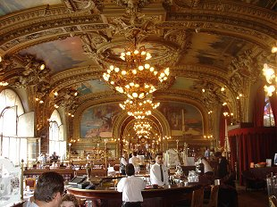 Le Train Bleu restaurant at the Gare de Lyon
